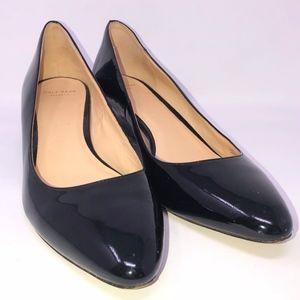 Cole Haan BETHANY wedge heels SZ 10 AA leather